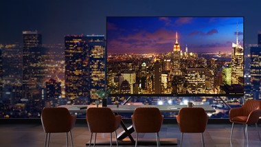 L'écran LED LG 130-inch All-in-one hyperfonctionnel: Le nouveau barème de fonctionnalité