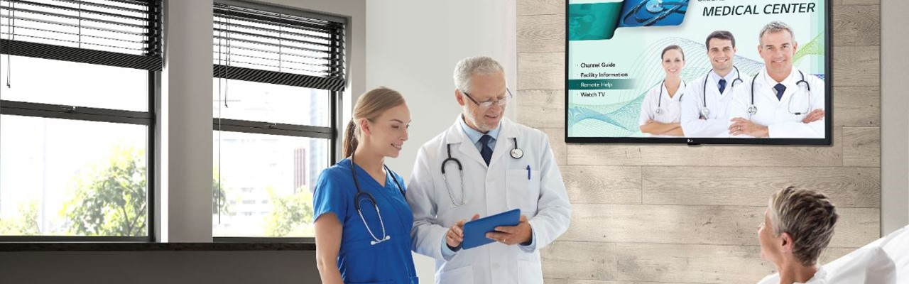 Digital signage in healthcare: niets dan winnaars